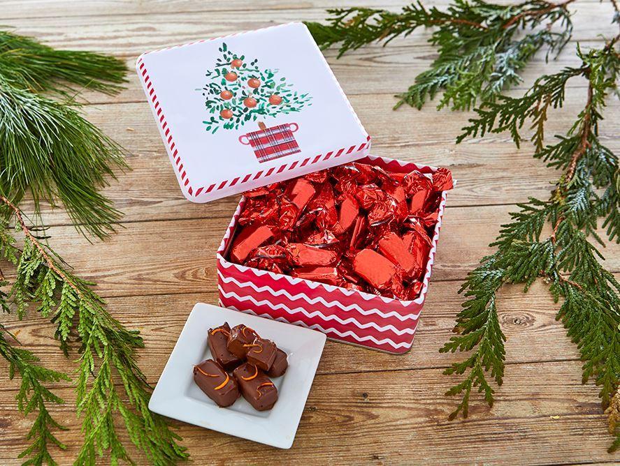 Sugar Belle truffles in gift tin