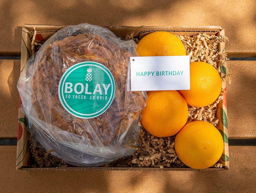 Bolay Birthday Basket Box