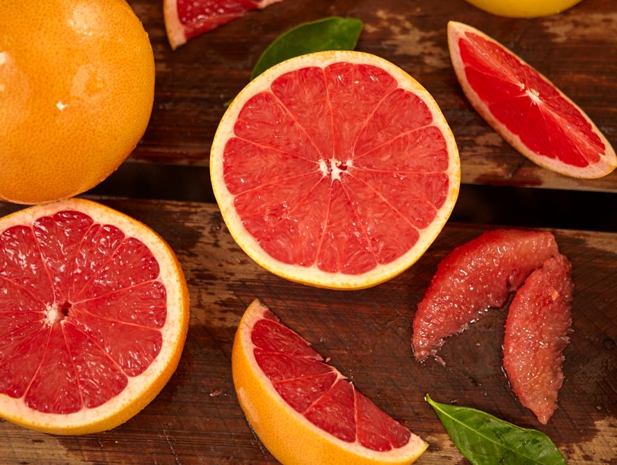 Dazzling Deep Red Grapefruit
