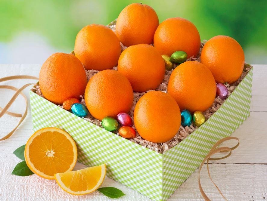 Oranges & Chocolate Eggs