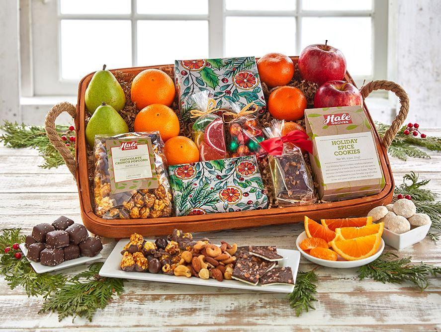 Holiday Citrus Large Tray