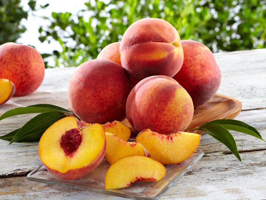 Chin Dripping Idaho Peaches from Hale Groves