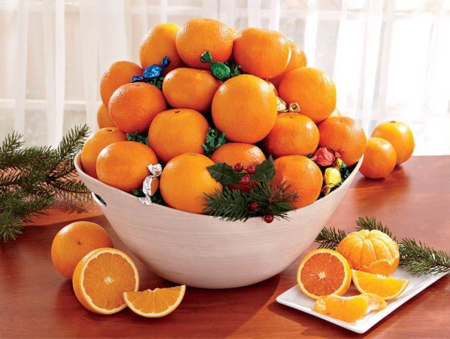 Orange-Lovers Gift Basket Assortment