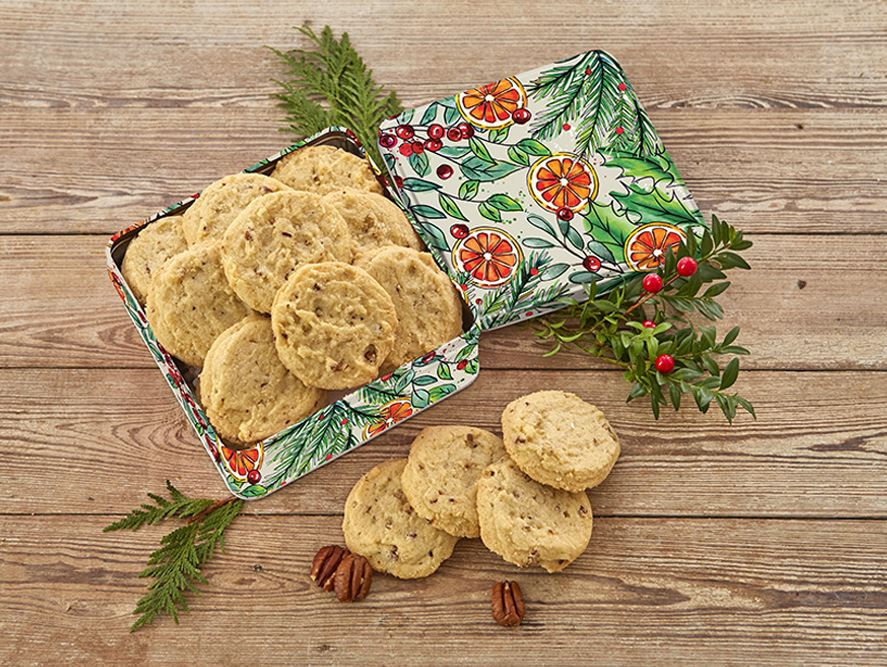 Sugar Pecan Cookies
