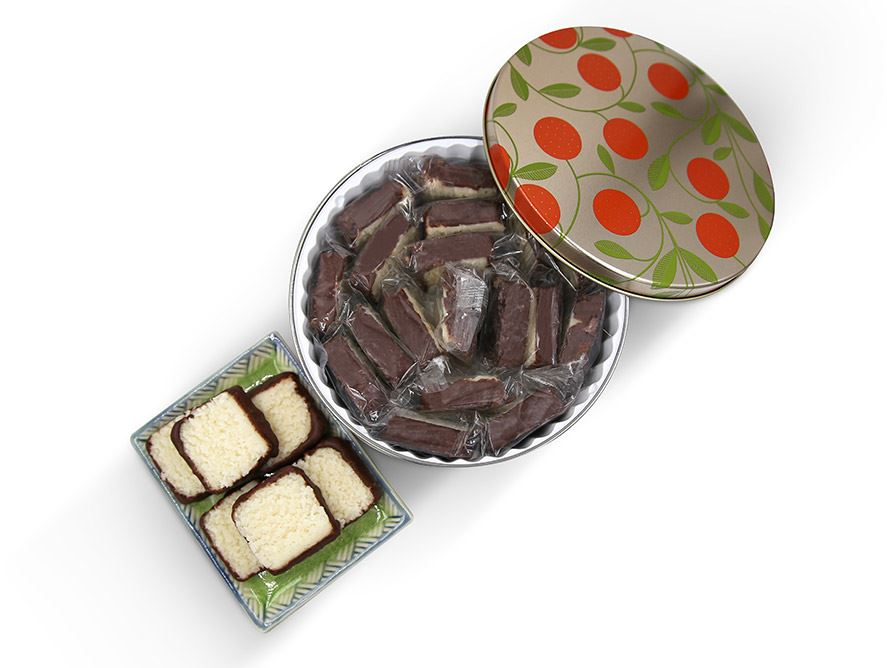 Coconut Patties In Gift Tin